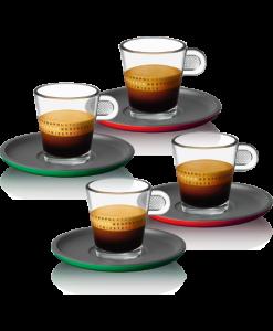 Les tasses aux couleurs de l'italie
