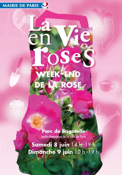 Weekend de la Rose à Bagatelle