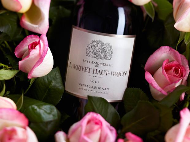 Oenofolie 2013 -Château Larrivet Haut-Brion et la rose