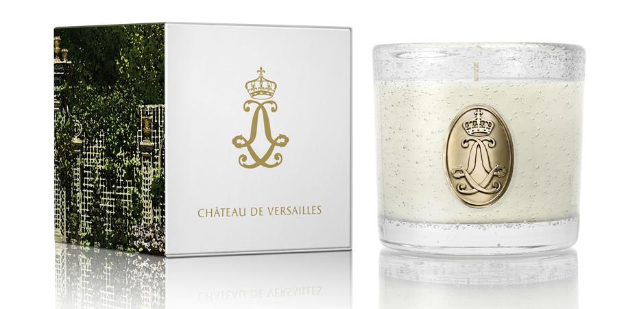 Le Château de Versailles à ses bougies parfumées