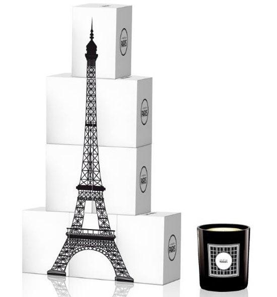Des bougies parfumées inspirée de La Ville de Paris  !