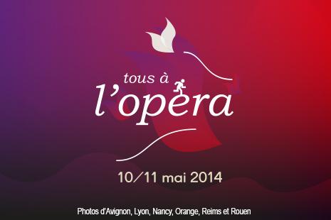 Tous à l'Opéra, ce weekend du 10 et 11 mai