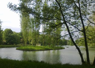 Ballade au Parc Jean-Jacques Rousseau à Ermenonville