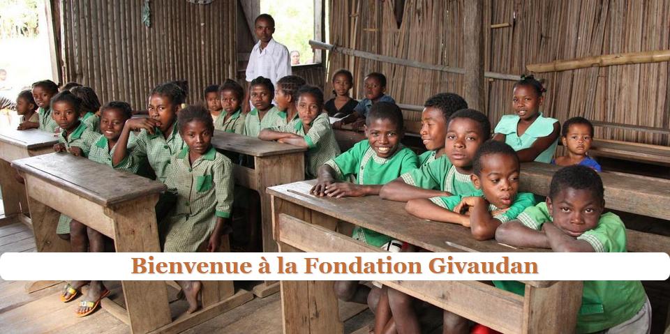 Givaudan crée sa propre fondation