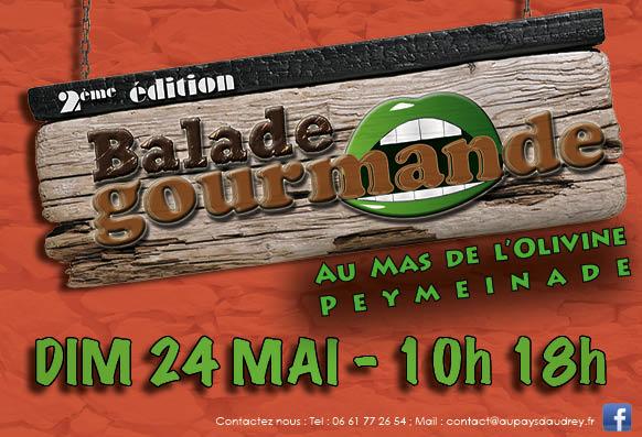 Balade Gourmande au Mas de l'Olivine à Peymeinade, près de Grasse
