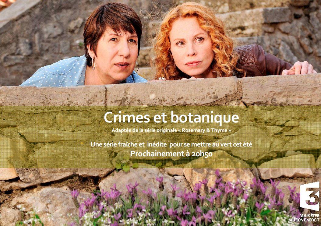 Crimes et botanique, un policier fleuri sur France 3