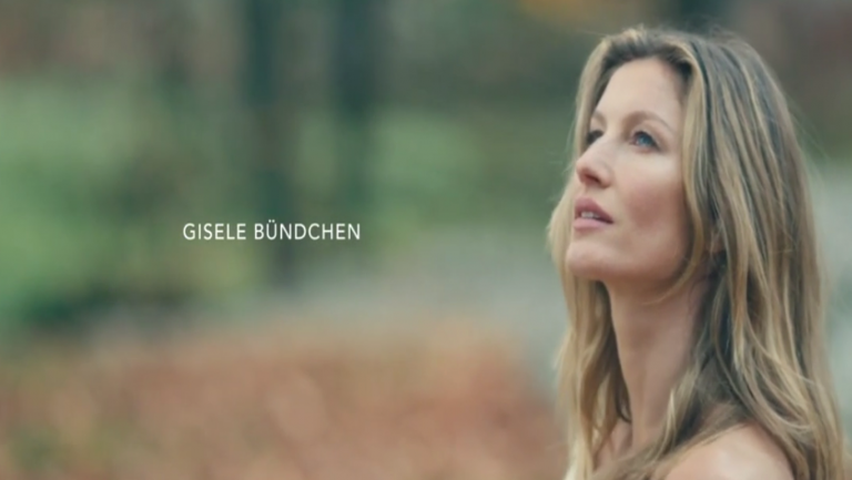 Emotions olfactives de Gisèle Bündchen