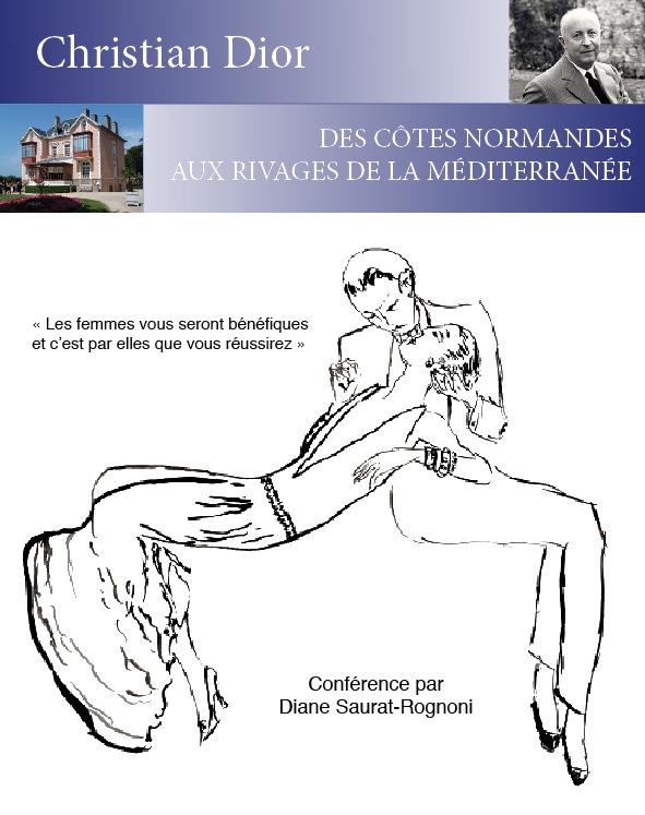 Une conférence sur Christian Dior au Cercle Littéraire et artistique de Grasse