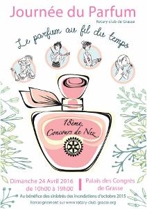 18ème journée du Parfum et du Concours de Nez à Grasse