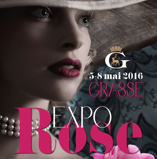 Expo Rose démarre jeudi 5 mai 2016 à Grasse