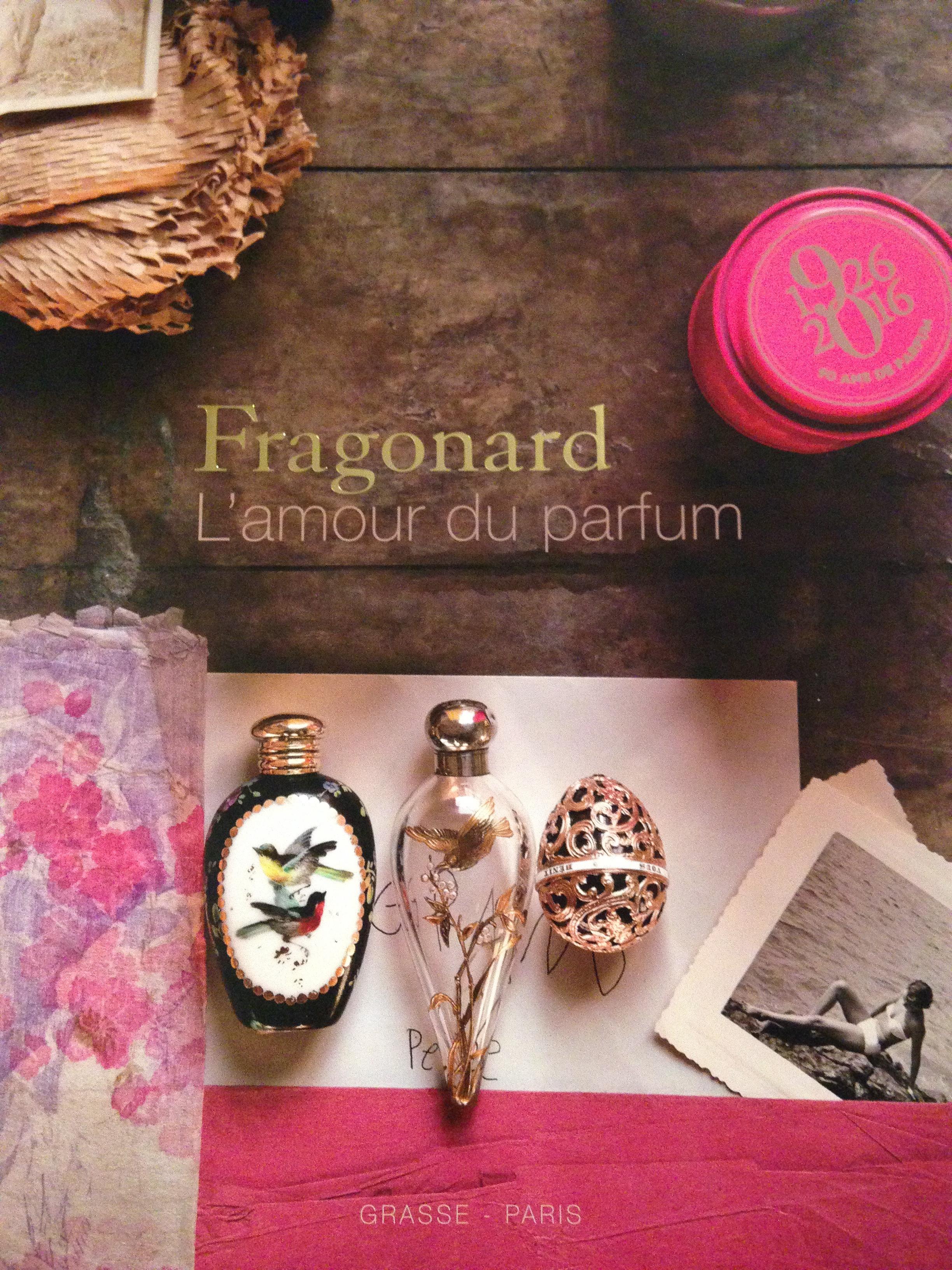 Fragonard, l'amour du parfum, un superbe livre