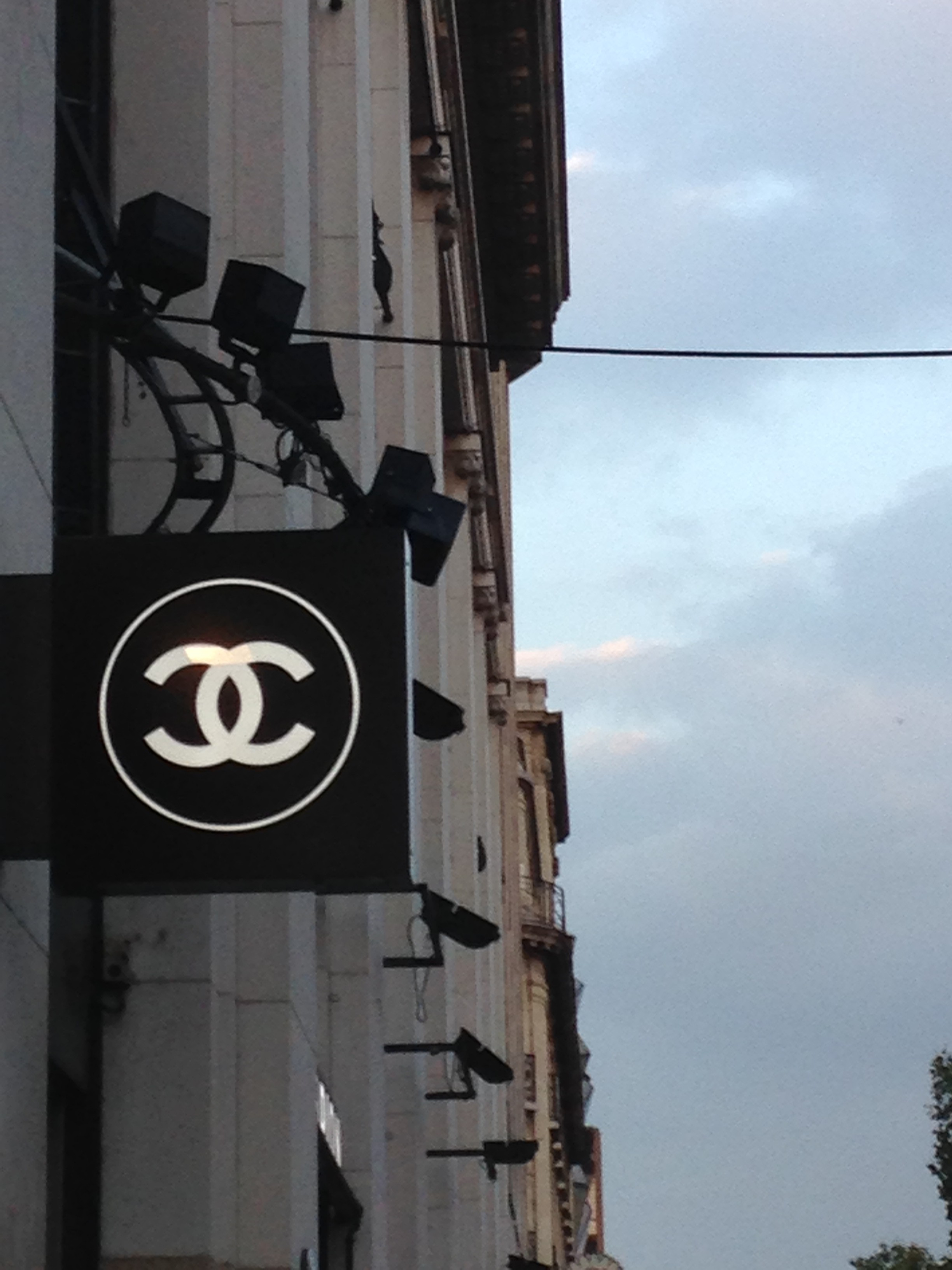 Ma visite à la boutique Chanel Beauté