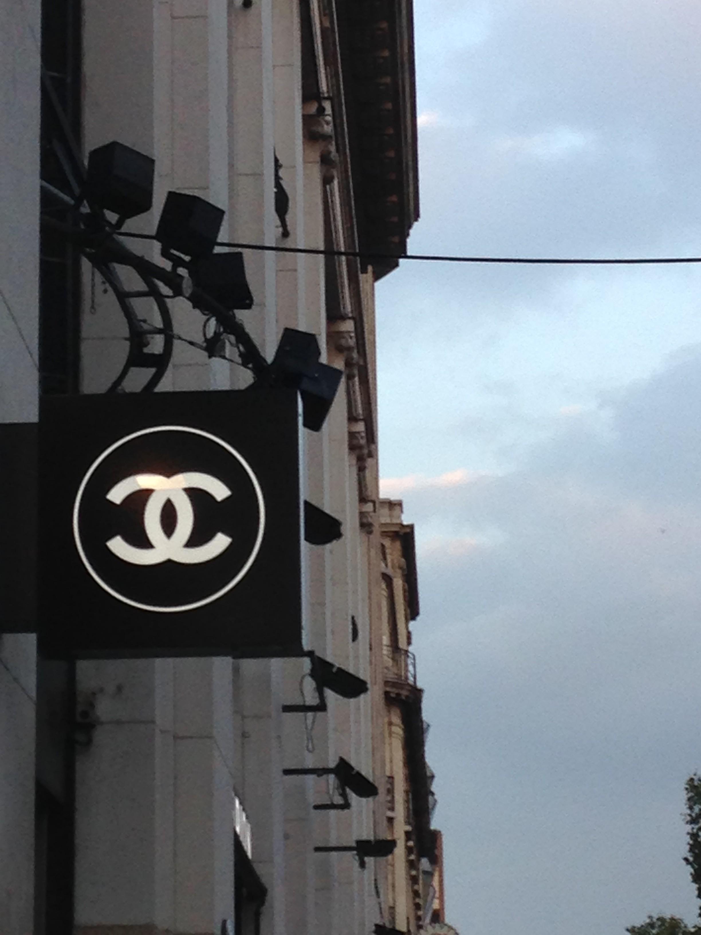 Ma visite à la boutique Chanel Beauté
