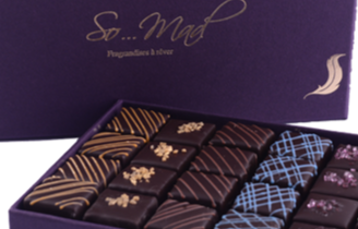 Deux ateliers chez Les Fragrandises Somad au Salon du Chocolat