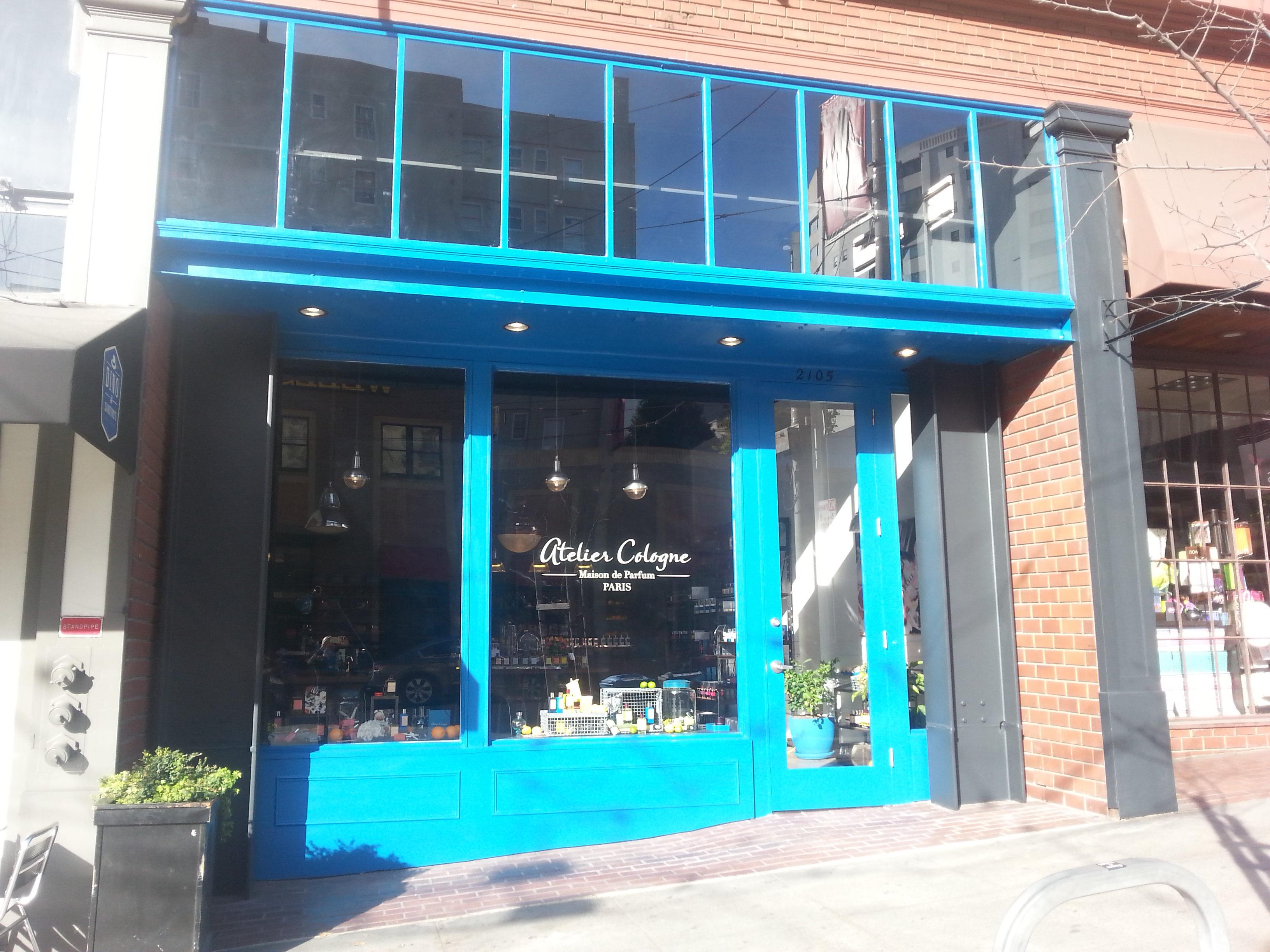Découvrons la boutique Atelier Cologne à San Francisco