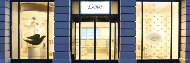 Dove ouvre son premier pop-up store
