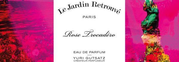 Fenêtre 25 Rose Trocadéro chez Le Jardin Retrouvé