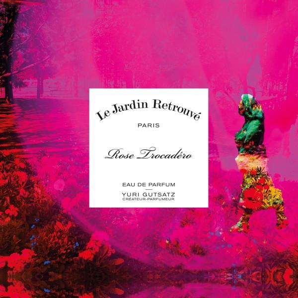 Rose Trocadéro chez Le Jardin Retrouvé