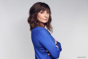 Anne Bouvier, pétillante, curieuse et tellement sympathique @Ludovic Baron