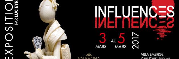 Influences, une exposition chocolatée Valrhona