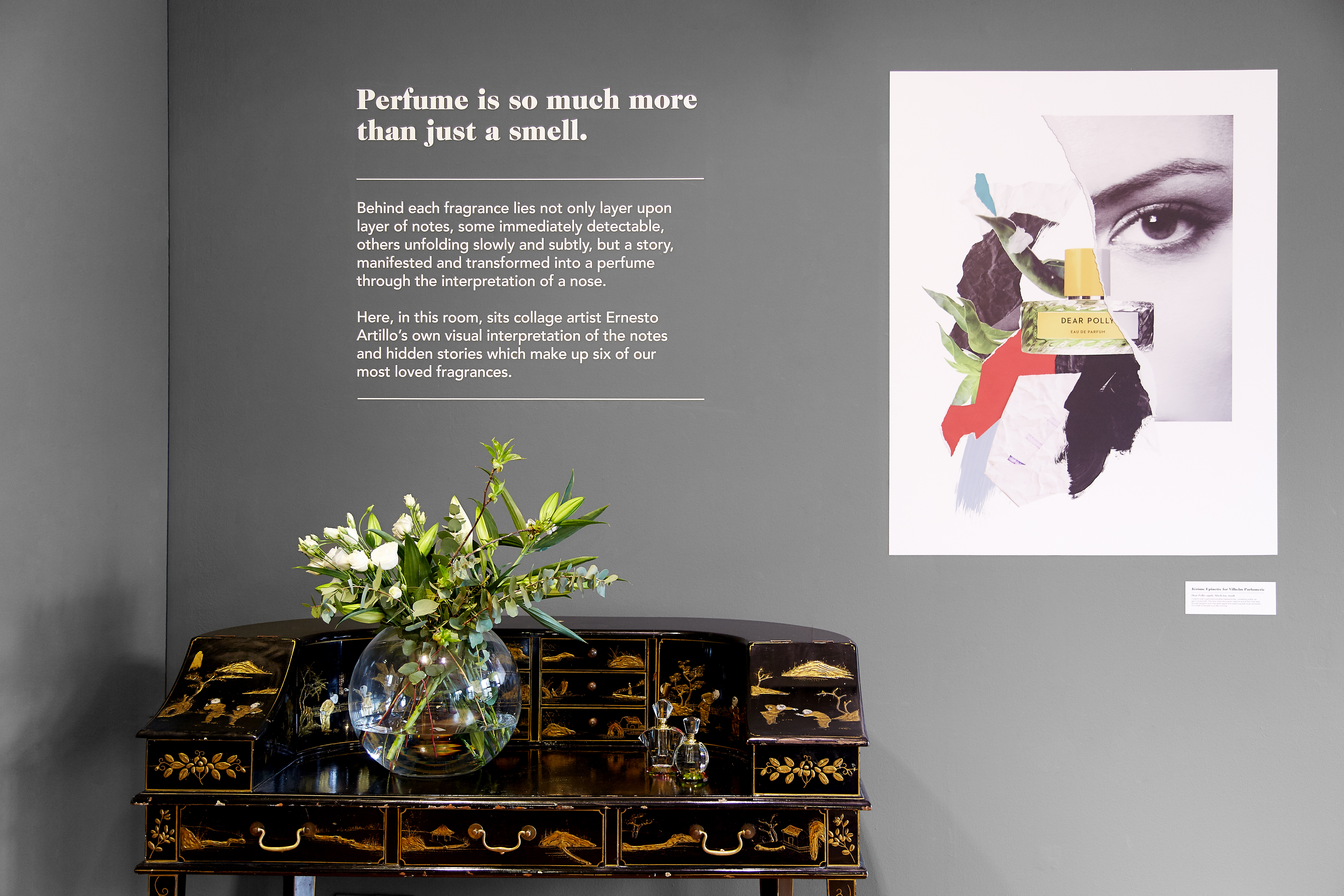 The perfume festival at Liberty In London