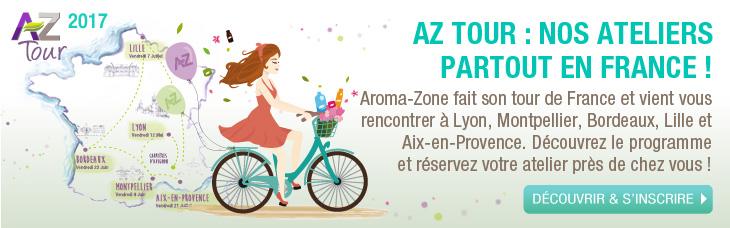Aroma-Zone fait un Tour de France
