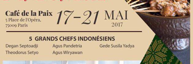 Reflets d'Indonésie au Café de la Paix