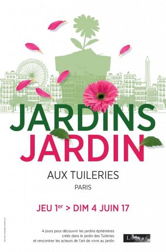 Paris à l'heure du salon Jardins, Jardin