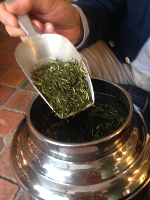 Autour du thé vert japonais avec Gilles Brochard