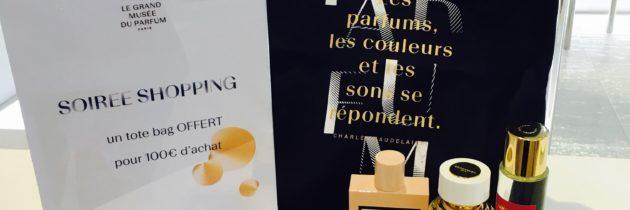 Séance de shopping Noël au Grand Musée du Parfum