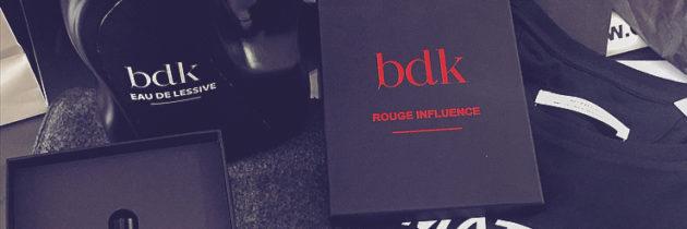 Let's go logo avec BDK Parfums au Bon Marché