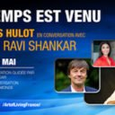 Nicolas Hulot et Sri Sri Ravi Shankar en live